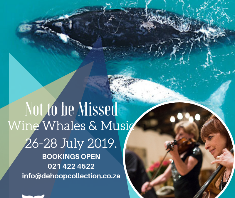 Wine, Whales and Music 2019