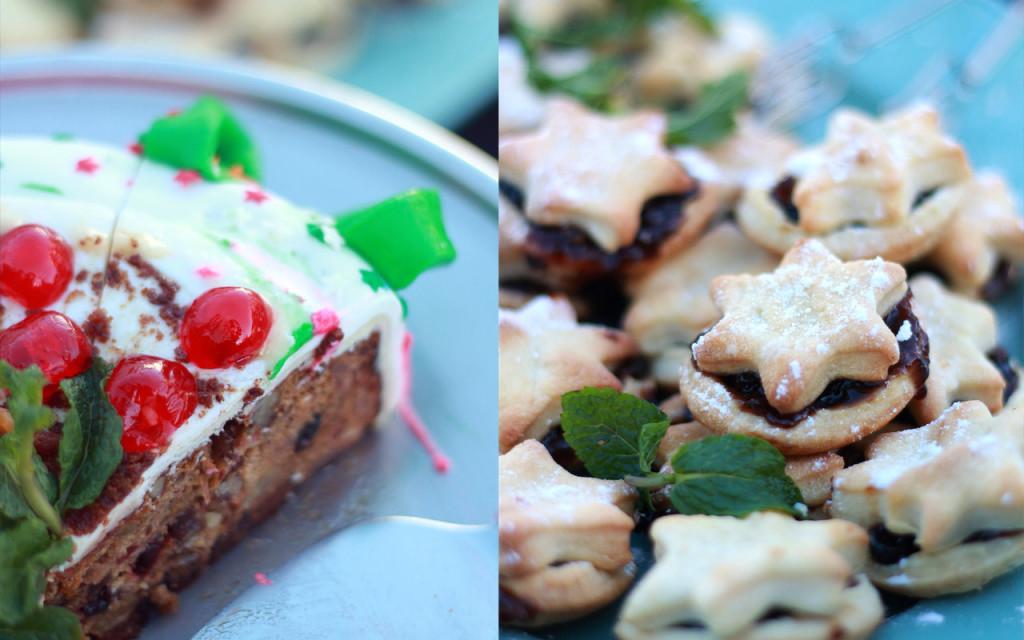 High Tea goodies for Santa's visit