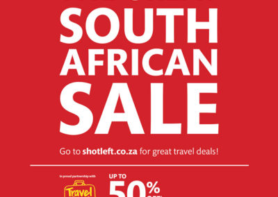 Sho't  Left Travel Week Special: Take 30% Off