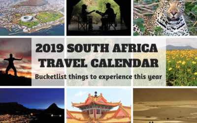 The 2019 South Africa Travel Calendar: Bucket list things to experience this year.