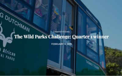 The Wild Parks Challenge: Quarter 1 winner
