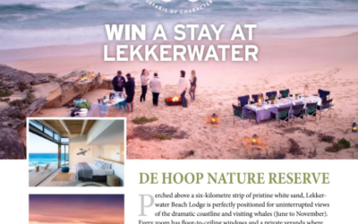 WIN A STAY AT LEKKERWATER