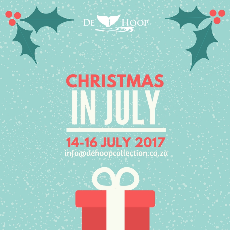 Christmas In July.Christmas In July De Hoop Collection