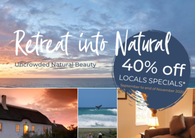 Retreat into Nature: 40% Off Locals Special